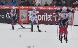 Calle Halfvarssons avslutning räckte till en tredje plats.