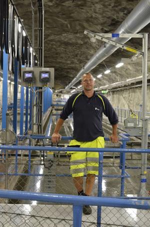 Pär Höglund är driftmaskinist på Tivoliverket.