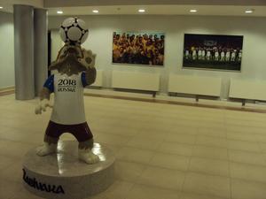 Zabivaka kommer att vara maskot för fotbolls-VM 2018.