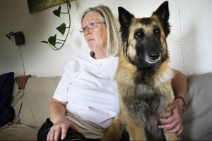 """""""Jag skulle vilja arbeta med djur"""", säger Sonja Mattsson. """"Kanske hos någon veterinär där mitt yrke som tandsköterska skulle kunna tas tillvara""""."""