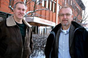 Ånges nya oppositionsföreträdare Leif Edh och Kjell Grip har olika politiska utgångspunkter, men ser båda vikänslan som en av de viktigaste framtidsfrågorna.