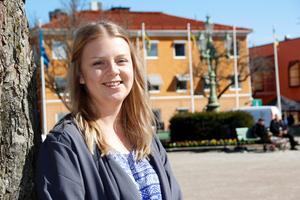 Lämnar Sala. Den 13 juni bär det av för Anna Wästling. Då åker hon till Namibia och stannar i fem veckor.