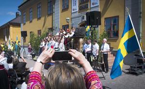 Nationaldagsfirandet vid Gruvan.
