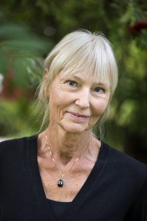 Carola Hansson.    Foto: Pontus Lundahl/TT