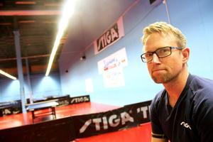 Fredrik Lundquist, coach för Suif:s ungdomslag som deltar i helgens lag-SM.