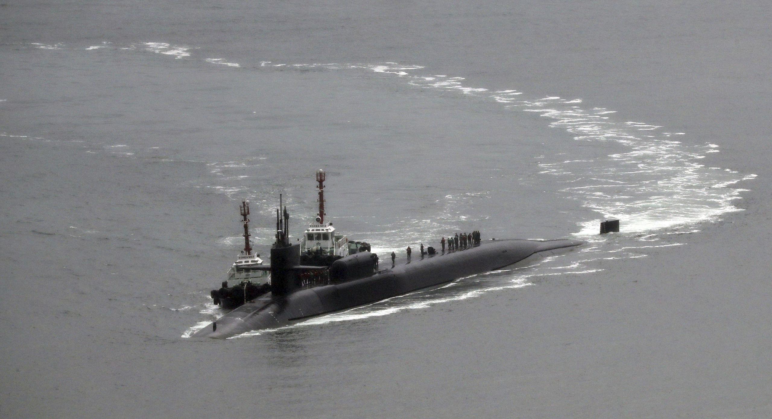 Nordkorea uppskattar usa flottan