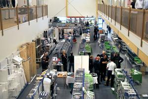Butiksdelen mäter 800 kvadratmeter och sammanlagt jobbar 11 personer för AB Karl Hedin i Edsbyn.