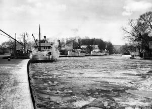 Hamnplan i Örebro på 30-talet.