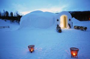 Till en början kommer Igloon vara öppen för besök onsdagar och torsdagar hela vintern för guidade visningar.