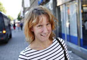 Ida Franklin, 30 år, geotekniker, Gävle:– Nej, det tycker jag inte. Man får samsas. Jag håller cykelreglerna ganska bra. Jag bodde tidigare i Uppsala och där håller polisen efter cyklisterna. Det är väldigt skillnad jämfört med här.