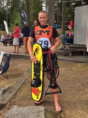 Jane Täfvander tog brons i trick under helgens tävlingar i Linköping.