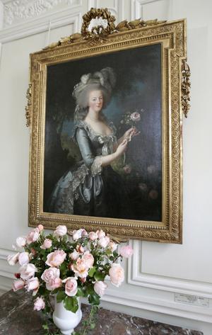 Baktalad drottning. En målning