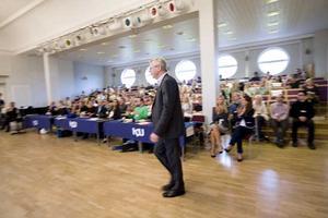 Invigning. Finansmarknadsministern Mats Odell (KD) invigningstalade vid KDU:s riksmöte.