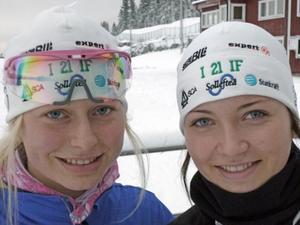 Juniortjejerna som förstärkt I 21 IF, amerikanskan Tara Geraghty-Moats och estländskan Regina Oja, blir spännande att följa i vinter.