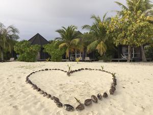 Maldiverna är ett populärt resmål för smekmånader.