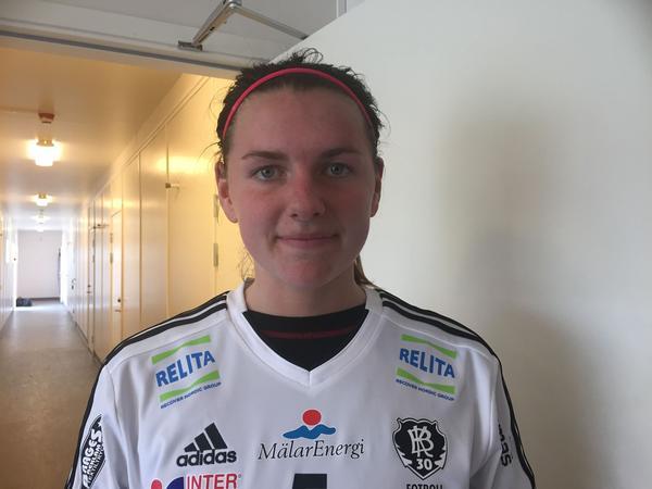 Sofia From bemöter kritiken från Hammarbytränaren med ro.
