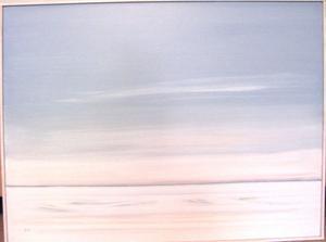 Våris, en oljemålning från omkring 2000 av Elsie Tapper.