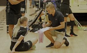 Christian Mattsson i samtal med VM IB-stjärnan Jessica Carlsson.