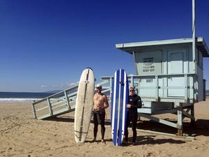 Surfkulturen har haft ett starkt fäste i södra Kalifornien sedan 1960-talet.   Foto: Emeli Emanuelson