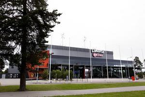 En femtedel av pengarna går till att byta namn från Läkerol Arena till Gavlerinken.