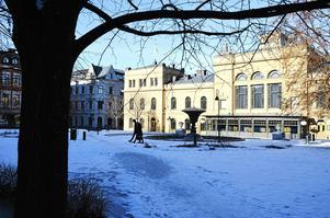 Den hotellbyggnad som Castellum planerar i Stadshusparken kommer att ha minst 70–80 rum.