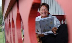 Aslappnad. Eva Johansson, som är licensierad mental tränare, håller en tredagarsutbildning för den som vill ta livskörkort. Foto: Hans Ohlander.