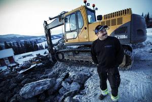 Jean Machner har jobbat med byggen i Åre i tio år. Och det finns ännu en hel del byggjobb, berättar han.