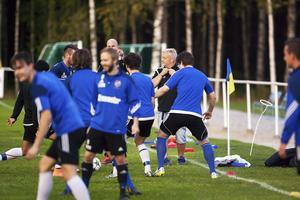 Nicklas Blomqvist kommer inte att träna Fagersta Södra 2018.