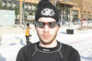 Johan Olofsson är tävlingsledare och stornöjd med arrangemanget.