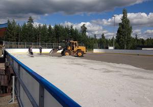 Kraftsamling Fränsta har kommit ett stort steg närmare färdigställandet av en multisportanläggning på orten.