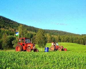 Traktorslalom i Almåsa, Offerdal.