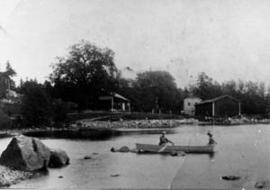 T h: Tidsdokument – ett hundraårigt sommarfoto från Engesberg. Ur Folke Löfgrens samlingar.