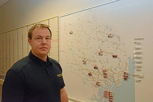 Överst på Viktor Lundins önskelista står att han vill ha många deltidsbrandmän till sin styrka.