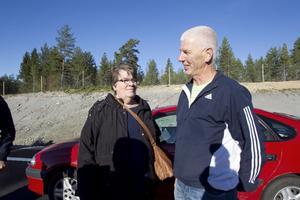 Först av alla privatpersoner på nya Europavägen var Margareta och Rolf Olsson från Rengsjö. Priset vann de i samband med E4-loppet i augusti.
