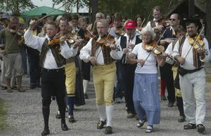 Huberget är mest känt för spelmansstämmor och hembygdsdagar.