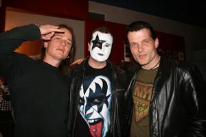 Kizzexpo. Henrik, Terje och Kjell.