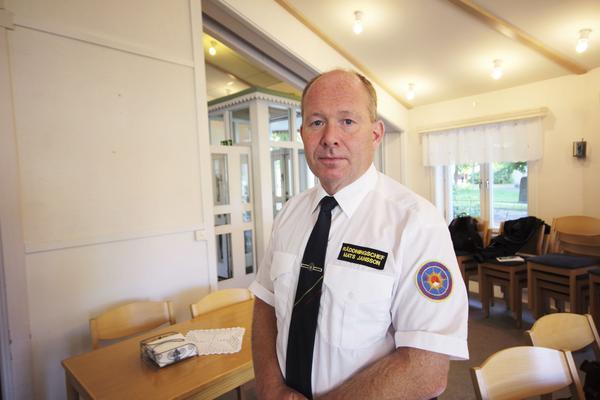 Mats Jansson, räddningschef.
