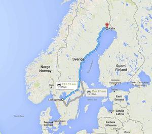Skärmdump från Google Maps.