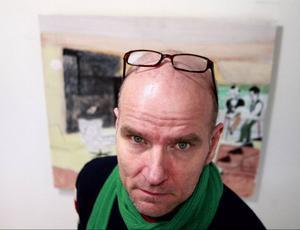 Jan Albert Carlssonåterkommer på Bolin med bilder som hämtar näring ur hans barndom.
