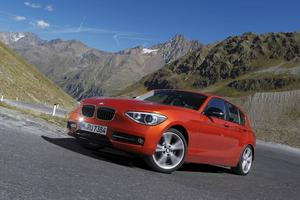 BMW 120d 5-d Automat.   Foto: Eric Lund