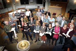 Motettkören repar för fullt inför nästa söndags framförande av Händels Messias.