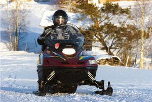 I Ovanåker finns 30 mil skoterleder och 1 500 snöskotrar.