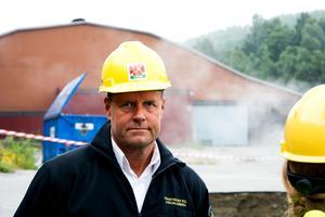 Håkan Wiberg vid Räddningstjänsten.