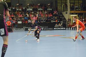Rasmus Enström noterades för 600 poäng under matchen mot Helsingborg.