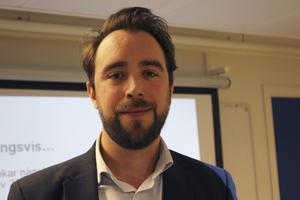 Marcus Löwing, analytiker på arbetsförmedlingen.