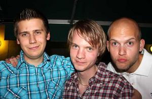 Blue Moon Bar. Martin, Daniel och Adam