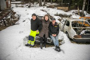 Janne Andersson, Jenny och Anders Holmqvist är stolta medlemmar i folkraceteamet Sikåsarna. De brinner för en kultur som vuxit sig stark i de jämtländska byarna.