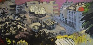 Levantinska drömmar, oljemålning av Carl-Olof Tronje.