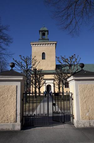 Västerhaninge kyrka.