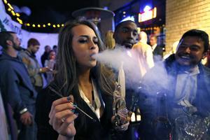 Här firas legaliseringen i Colorado.